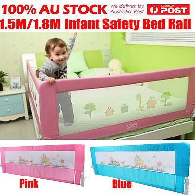 1/2/3Pcs 150CM 180CM Wide Safety Bed Rail Cot Guard Protection Child Toddler Kid