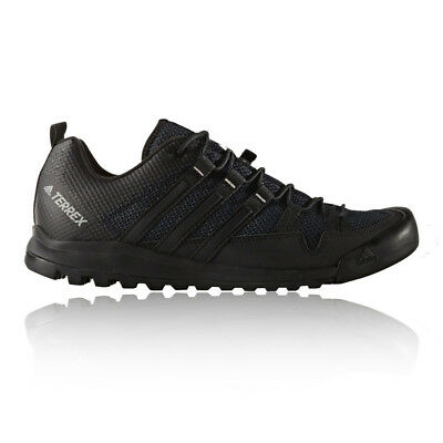 Adidas Terrex Solo Mens Black Lace Up Outdoors Walking Hiking Shoes