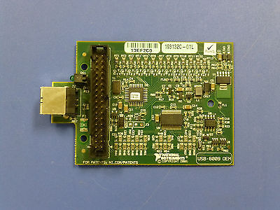 National Instruments USB-6009 OEM Data Acquisition Card, NI DAQ, Multifunction