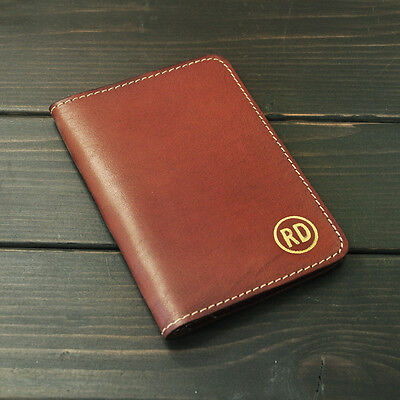 Personalized Passport Holder,Leather Passport cover travel wallet Groomsmen gift