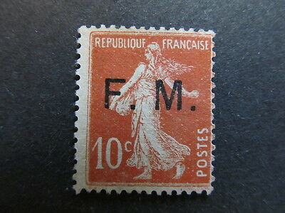 A4P6 France Military Post 1901-39 10c used #32
