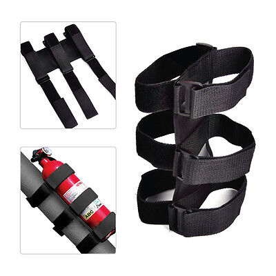 Car Auto Fire Extinguisher Roll Bar Straps Fit For Jeep Wrangler TJ 1997-05 2006