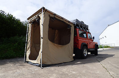 Expedition Awning Outdoor Tent For 4X4S Vans And Motorhomes Boxed - 1.4M x 2M