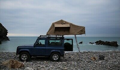 Three Man Expedition Roof Tent External - Land Rover Defender And Discovery