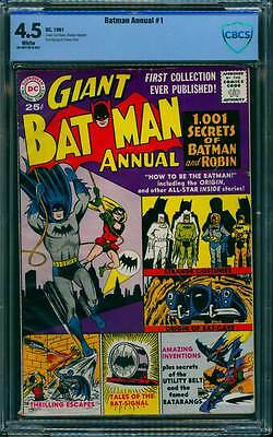 Batman Annual # 1   1,001 Secrets of Batman and Robin  !  CBCS 4.5 scarce book !