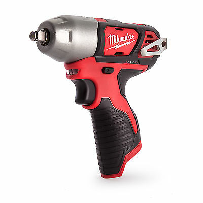 Milwaukee M12BIW38-0 M12 Cordless Sub Compact Impact Wrench 3/8 Inch (Body Only)