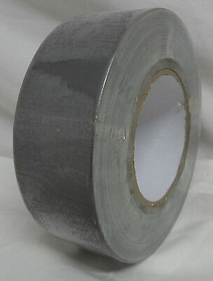 Tesa Cloth Gaffa Tape - Silver - 50 Metres - 48Mm Wide - New And Sealed