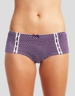 Midnight Grace Lilly Bliss Maternity Brief Short Under Belly Purple V Sizes NEW