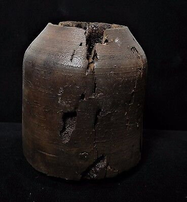 Zurqieh - Ancient Holy Land, Iron Age Wood Vessel. 900 - 600 B.c