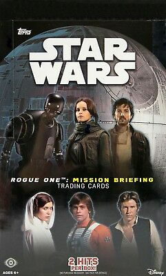 2016 Topps Star Wars Road to Rogue One: Mission Briefing Hobby Box