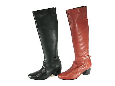 "Wholesale Lot 74 Pairs Cvine Leather Women's Boots, Model ""Medee"""