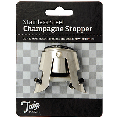TaIa Professional Quality Champagne Stopper - Wine Beer Rum Drinks Whiskey