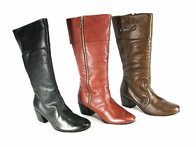 "Wholesale Lot 91 Pairs Cvine Leather Women's Boots, Model ""Notting Hill"""