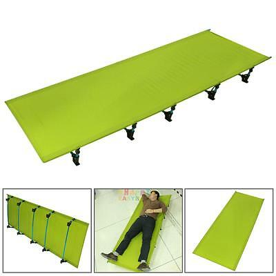 Outdoor 1.5KG Ultralight Foldable Bed Portable Aluminium Cots Camping Tent Bed