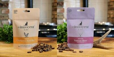 The Innocent Cat Luxury Treats for Cats 100g Natural
