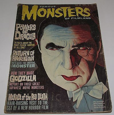 Famous Monsters Of Filmland #30 Warren Horror Magazine