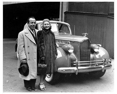 1940 Packard Super Eight Convertible Coupe ORIGINAL Factory Photo ouc6934