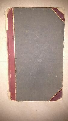 Old hotel Register book
