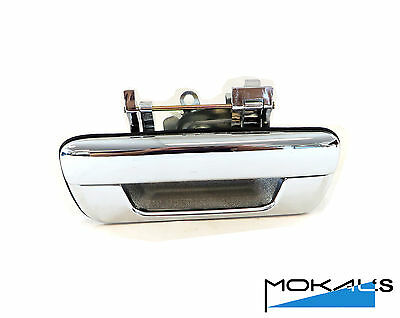 holden rodeo ute RA tailgate handle (chrome without lock type)2003-2008