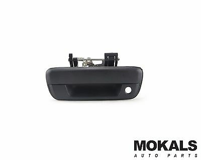 holden rodeo ute RA tailgate handle (blackwith lock hole )2003-2008