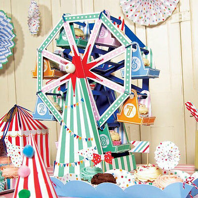 Ferris wheel cupcake stand, circus them cake stand, carnival party, circus party