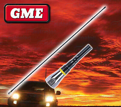 Gme 1Metre Fiberglass Am / Fm Radio Antenna Aerial Replacement Mast Whip New