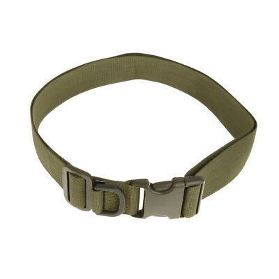 120cm Tactical Quick Release Rescue Rigger Military Webbing Nylon Belt
