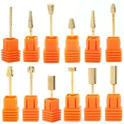 Carbide Nail Drill Bit Tool Ceramic Rotary File Manicure Pedicure Clean For Nail