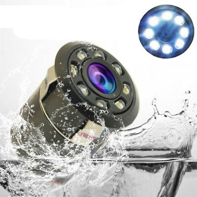 8 LED Waterproof Car Auto Backup Rear View Reverse Parking Camera Night Vision