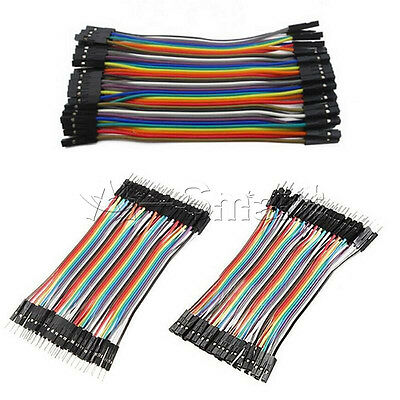 120PC Dupont Wire Male to Male Male to Female Female to Female Jumper Cable 10cm