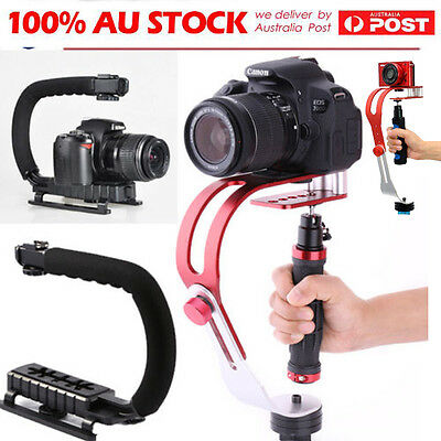 Por Handheld Video Steadycam Cam Stabilizer System For DSLR Camera Camcorder