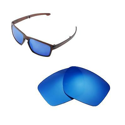 1d90c13a65 New Walleva Ice Blue Polarized Replacement Lenses For Oakley Sliver F  Sunglasses