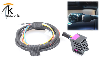AUDI A4 B5 Cruise control GRA Speed regulation system Cable set