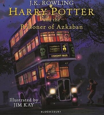 Harry Potter and the Prisoner of Azkaban Illustrated Edition (PREORDER Oct 2017)
