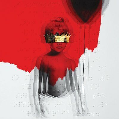 RIHANNA - ANTI - 2 x VINYL LP - RED VINYL RIHB002299302 - NEW / SEALED