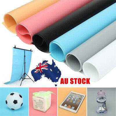 AU 68cmx130cm Washable PVC Photography Lighting Background Photo Studio Backdrop