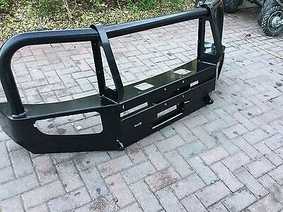 Nissan Navara D40 Front HD Heavy Duty Front Bumper With Winch Mount Off Road