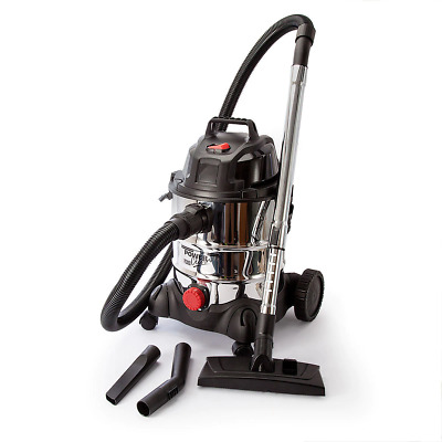 Sealey PC200SD Vacuum Cleaner Industrial Wet & Dry 20ltr Stainless Bin 1250W/...