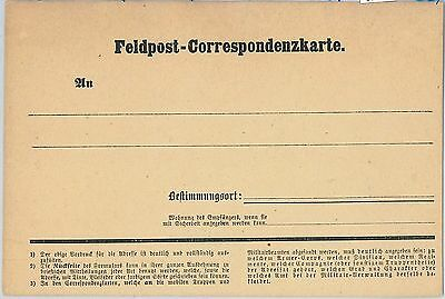 62457 - North GERMANY - POSTAL HISTORY: Stationery Field Card FRENCH-PRUSIAN WAR
