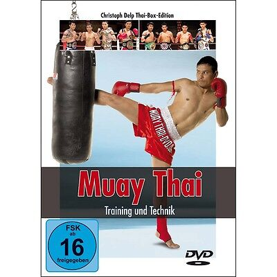 Muay Thai DVD - Training und Technik, Christoph Delp Thaiboxen