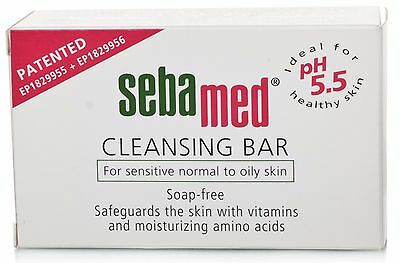 Sebamed Cleansing Bar - Soap Free 100g