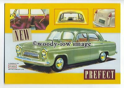tm5684 - Ford Prefect 100E ( 1953 ) - British Cars of the 50's & 60's postcard