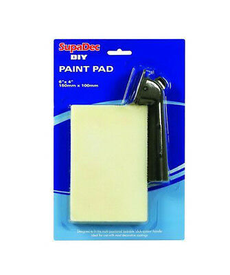SupaDec DIY Paint Pad with Handle 6 x 4""