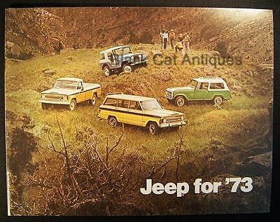 Original 1973 American Motors Jeep/Commando/Wagoneer/Truck Color Brochure Canada