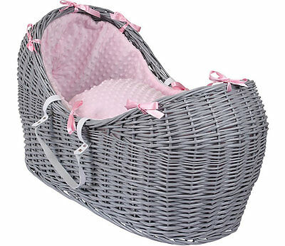 Brand new in box Clair de lune grey noah pod in pink dimple