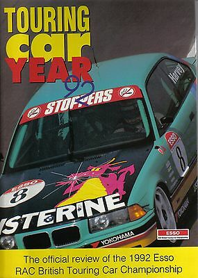 Touring Car Year Annual 1992 - Vauxhall BMW Toyota UK Results New Circuits Hoy +