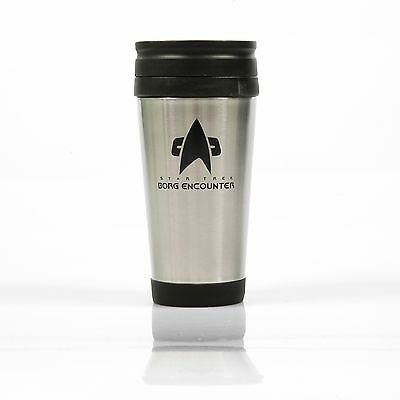 Thermo Becher  -  Star Trek Voyager - Communicator Borg Encounter  Rarität NEU