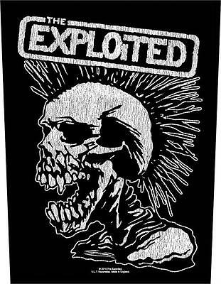 The Exploited - Back Patch - Brand New - Music Band 1035