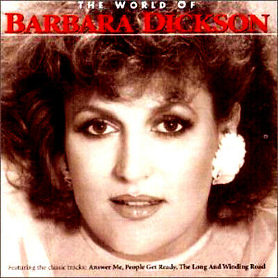 BARBARA DICKSON WORLD OF NEW SEALED CD ANSWER ME/LEAN ON ME DRIFTAWAY and More