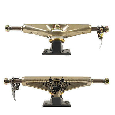 Venture 5.25 Low Hollow Kingpin Skateboard Achsen P-Rod Eagle Gold